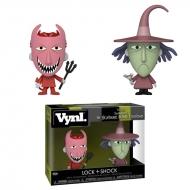 L'étrange Noel de Mr. Jack - Pack 2 figurines Lock & Shock 10 cm