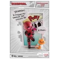 Marvel Comics - Figurine Mini Egg Attack Deadpool Jump Out 4th Wall 12 cm