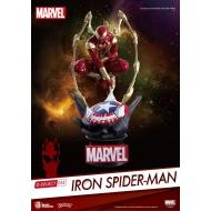 Marvel - Diorama D-Select Iron Spider-Man 16 cm