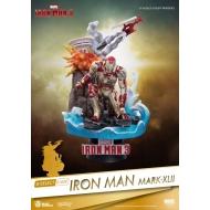 Iron Man 3 - Diorama D-Select Iron Man Mark XLII 15 cm