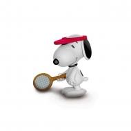 Snoopy - Figurine Snoopy Joueur de Tennis 5 cm