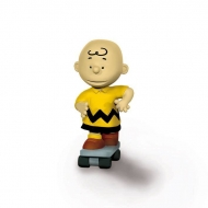 Snoopy - Figurine Charlie Brown Skateboarder 6 cm
