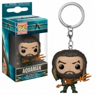 Aquaman - Porte-clés Pocket POP! Arthur Curry as Gladiator 4 cm