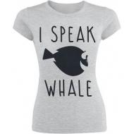 Le Monde de Nemo - T-Shirt femme I Speak Whale