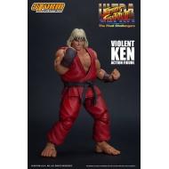 Street Fighter Ultra  II: The Final Challengers - Figurine 1/12 Violent Ken 15 cm