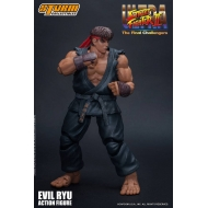 Street Fighter Ultra II: The Final Challengers - Figurine 1/12 Evil Ryu 15 cm