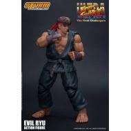 Street Fighter Ultra II: The Final Challengers - Figurine 1/12 Evil Ryu 15 cm