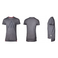 Assassin's Creed Odyssey - T-Shirt Logo Oil Dye Pintuck