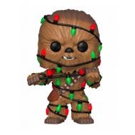 Star Wars - Figurine POP! Holiday Chewbacca with Lights 9 cm