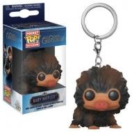 Les Animaux fantastiques 2 - Porte-clés Pocket POP! Baby Niffler (Brown Multi) 4 cm4 cm