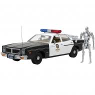 Terminator - Réplique métal Dodge Monaco 1/18 Metropolitan Police 1977