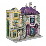 Harry Potter - Puzzle 3D DAC Madam Malkin's Robes for All Occasions & Florean Fortescue's Ice Cream