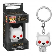 Game of Thrones - Porte-clés Pocket POP! Ghost 4 cm