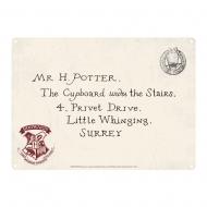 Harry Potter - Panneau métal Letters 21 x 15 cm