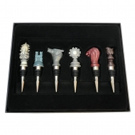 Game of Thrones - Set 6 Bouchons de bouteille Armoiries
