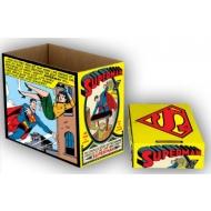 DC Comics - Pack de 5 Boîtes de rangement Superman Comic Panel 23 x 29 x 39 cm