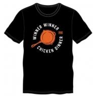 Playerunknown's Battlegrounds - T-Shirt Frying Pan Winner Winner Chicken Dinner