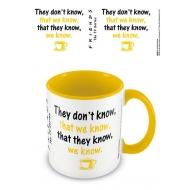 Friends - Mug Coloured Inner We Know