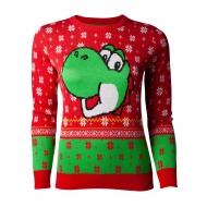 Nintendo - Sweat femme Christmas Yoshi