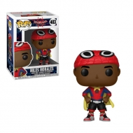 Spider-Man, l'homme-araignée - Figurine POP! Bobble Head Miles with Cape 9 cm