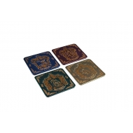 Harry Potter - Pack 4 sous-verres Houses Crests