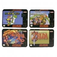 Super Nintendo - Pack 4 sous-verres