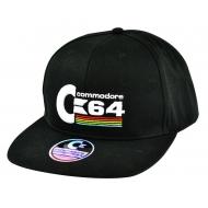 Commodore 64 - Casquette Snapback Logo