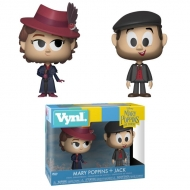 Mary Poppins 2018 - Pack 2 VYNL figurines Mary & Jack the Lamplighter 10 cm