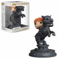 Harry Potter - Figurine POP! Ron Riding Chess Piece 21 cm