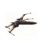 Star Wars Episode VII The Force Awakens - Figurine métal Poe's X-Wing Fighter 15 cm