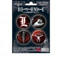 DEATH NOTE - Pack de badges - Symboles 2