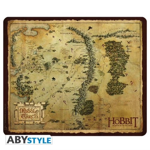 THE HOBBIT - Tapis de souris Carte Terre du Milieu
