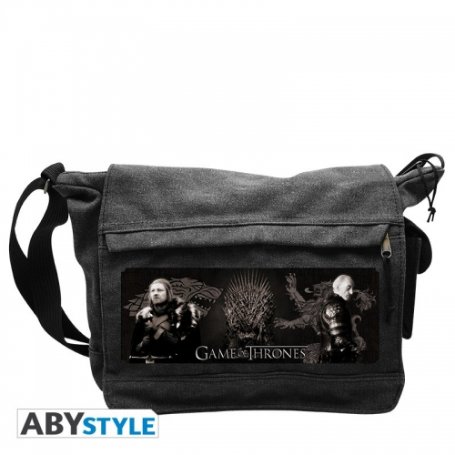 GAME OF THRONES - Sac Besace Eddard & Tywin Grand Format