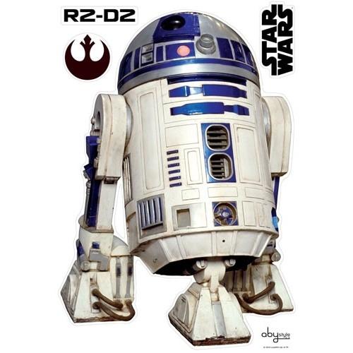 STAR WARS - Planche de stickers muraux R2D2