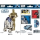 STAR WARS - Planche de mini-stickers (16x11) -  R2D2