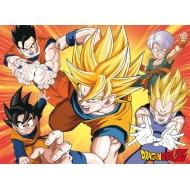 DRAGON BALL - Poster DBZ/ Saiyans (52x38)