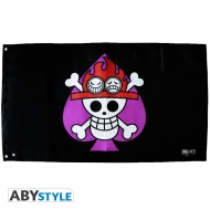 ONE PIECE - Drapeau Ace (70x120)