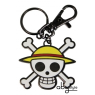 ONE PIECE - Porte-clés Skull - Luffy