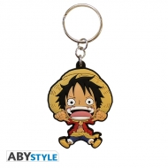 ONE PIECE - Porte-clés PVC Luffy SD