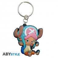 ONE PIECE - Porte-clés PVC Chopper SD