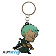 ONE PIECE - Porte-clés PVC Zoro SD