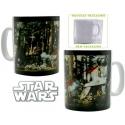 STAR WARS - Mug porcl. grand format ac boîte