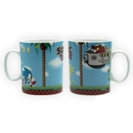 SONIC - Mug de Sonic Green Hills Level (460ml)