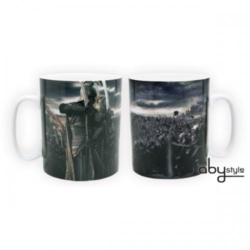 LORD OF THE RING - Mug - 460 ml - Movie Scene - porcl. avec boite