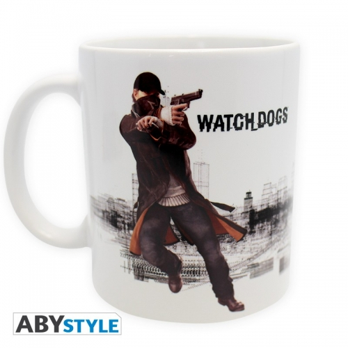 Watch Dogs - Mug Aiden Pearce Watch Dog