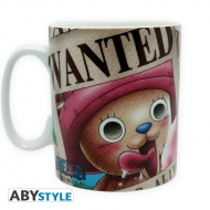 ONE PIECE - Mug - 460 ml - Chopper Wanted -  porcl. avec boîte