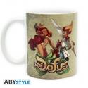 DOFUS - Mug - 320 ml - Iop & Ecaflip - subli - avec boîte