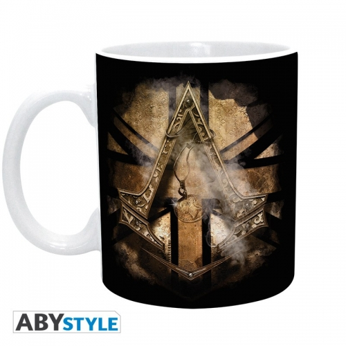 ASSASSIN'S CREED - Mug - 320 ml - Golden Union Jack - subli - boîte