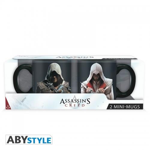 ASSASSIN'S CREED - Set 2 mini-mugs -Ezio et Edward