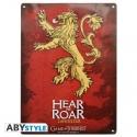 Game of Thrones - Plaque métal